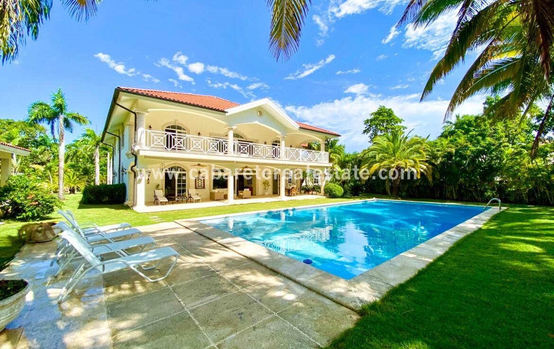 Dream beachside home Cabarete Real Estate Dominican Republic