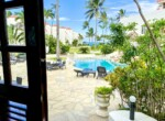 Front door pool views beach-home Cabarete Real Estate