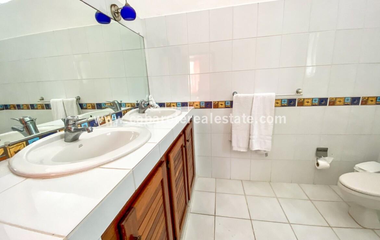 Luxurious bathroom in dream beachfront home Cabarete Real Estate
