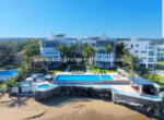 Luxury apartment in safe condo complex directly on the beach of Sosua
