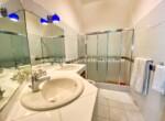 Master bathroom in beachfront home Cabarete Real Estate Dominican Republic