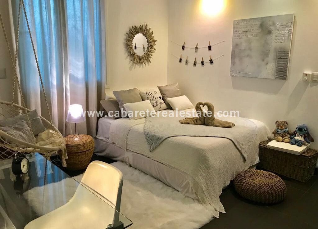 Modern bedroom in luxury apartment in sosua dominican republic