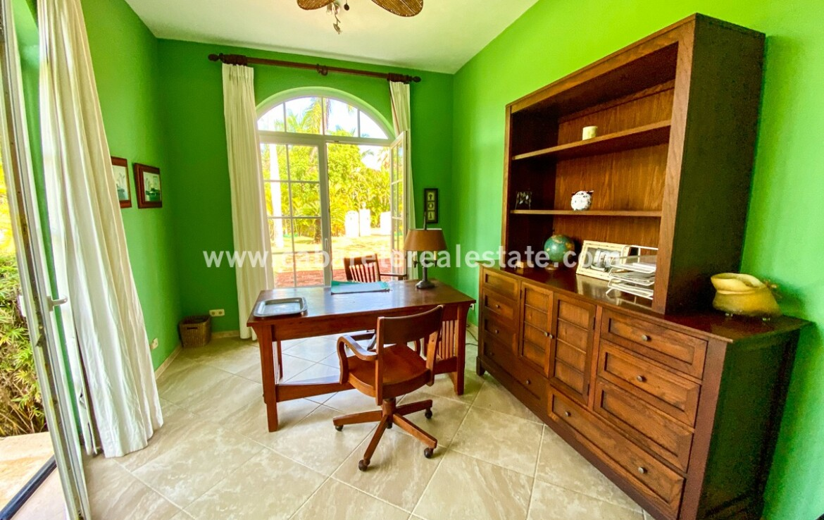 Office space in luxurious home Cabarete Real Estate