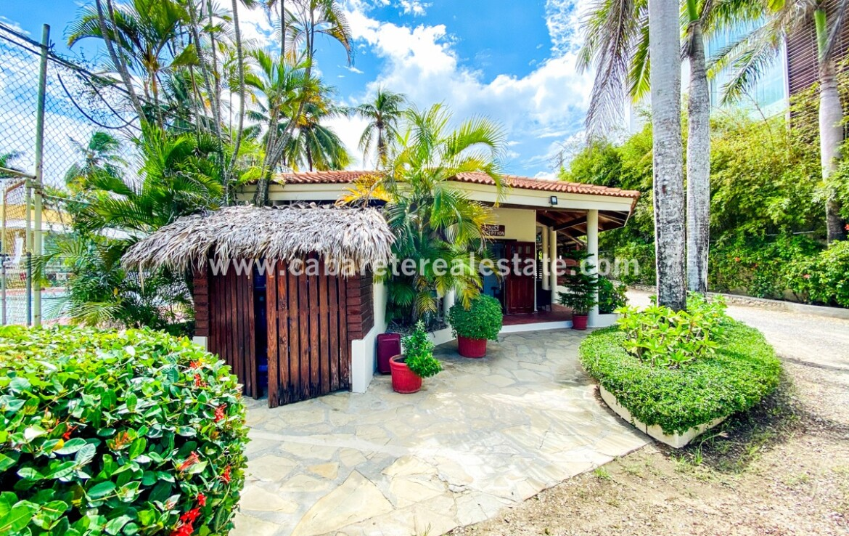 On site management team for Beachfront Villa Cabarete Dominican Republic