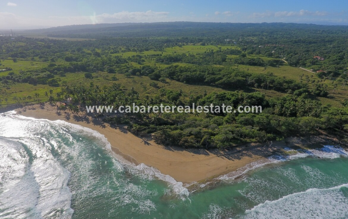 Playa Encuentro tierra North Coast Dominican Republic El Encuentro Development land 123 acres Cabarete Real Estate