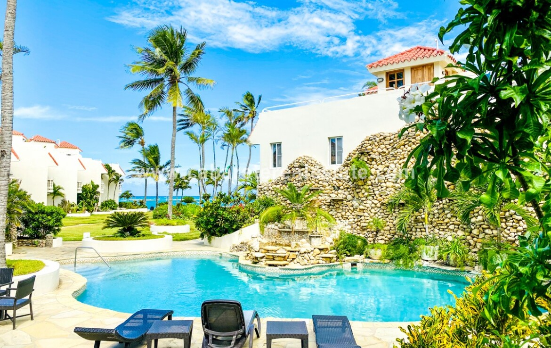 Pool at beachside home in Cabarete Bay Cabarete Real Estate The Dominican Republic has it all