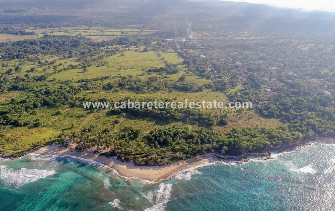 Premium beachfront development land 50 hectares Cabarete Dominican Republic 1 2