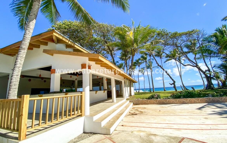Remodelled Beach front restaurant Encuentro Beach Surf Cabarete Dominican Republic
