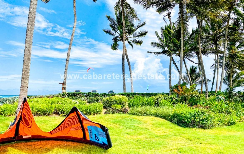 Views from beachfront villa Cabarete Real Estate Dominican Republic