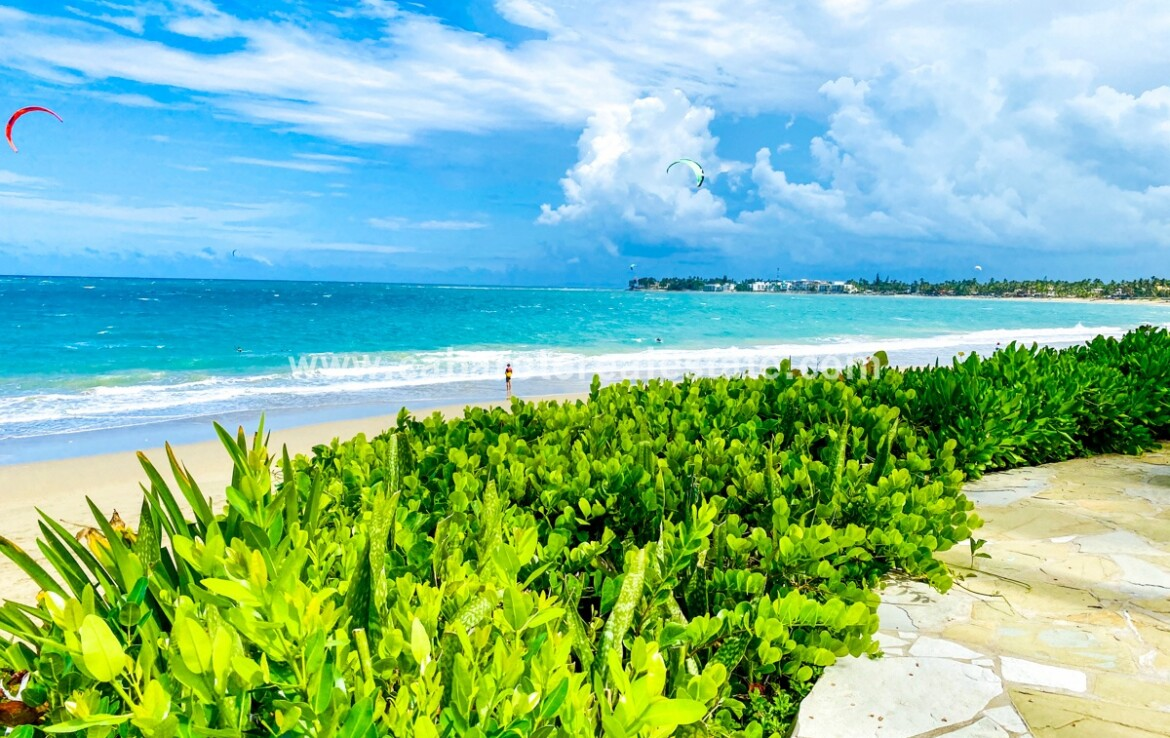 Views from your beach front home Cabarete Real Estate Dominican Republic