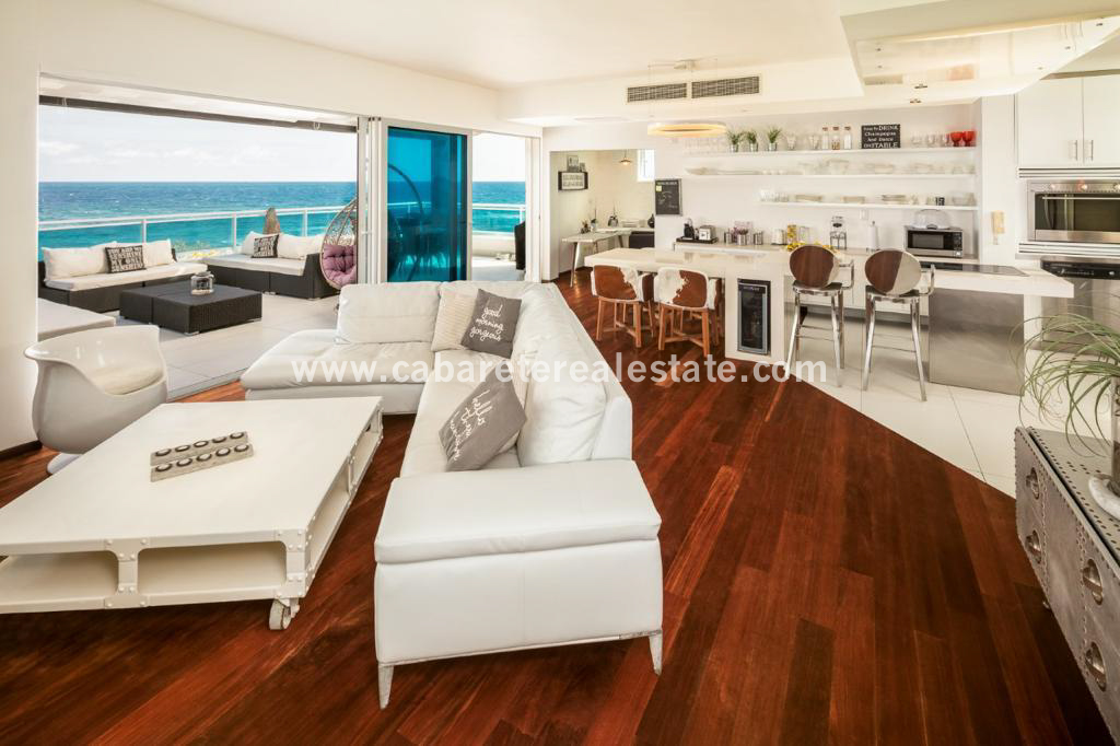 amazingly decorated luxury beachfront apartment in middle of sosua dominican republic