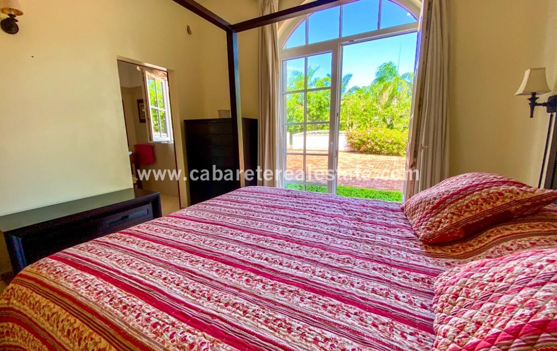 double room bedroom bath ensuite closet ocean cabarete Dominican republic