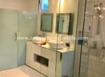 high end bathroom in this luxury beachfront apartment in sosua