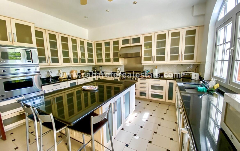 modern 5 star kitchen viking cabarete real estate oceanfront