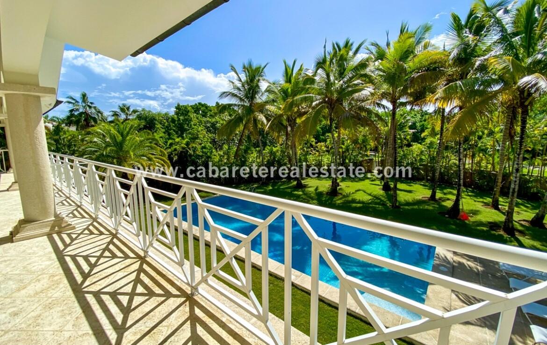 pool ocean view balcony terrace kite beach cabarete Dominican Republic veranda