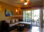 living room fan bright cabarete dominican republic oceanfront large patio dining 1