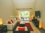 patio light living room tv sofa furnished modern cabarete dominican republic