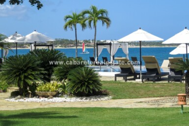 pool cabarete dominican republic oceanfront sunset views outdoor patio beach bay 2