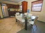 tile wood dining open kitchen appliances cabarete dominican republic view patio