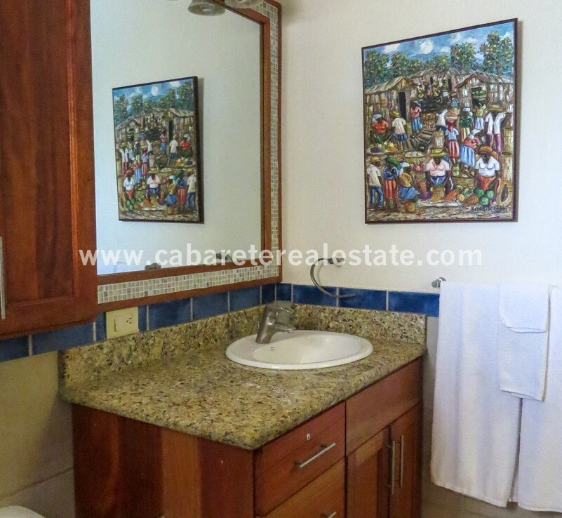 vanity restroom granite tile floors cabarete dominican republic oceanfront ensuite bathroom 1