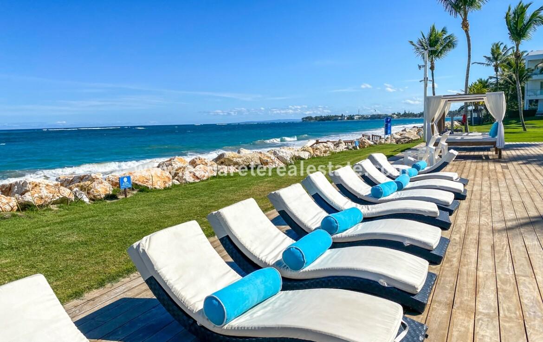 bay ocean walking kiteboarding pool jacuzzi cabarete oceanfront luxury aparthotel