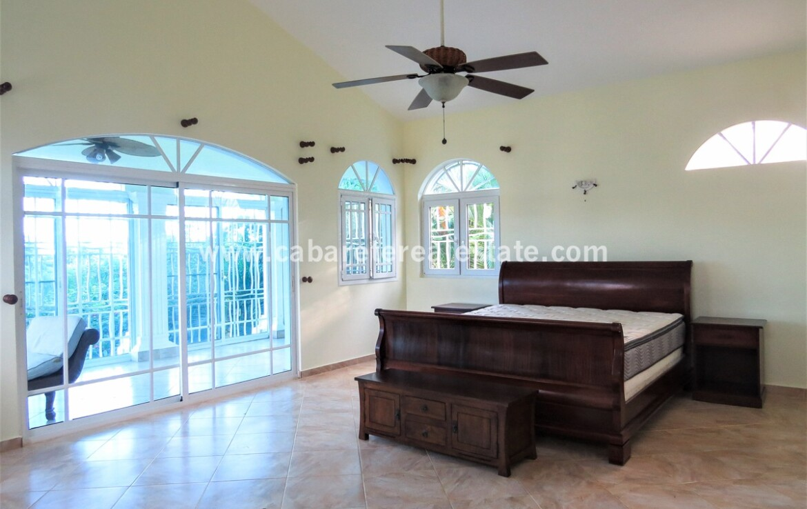 bed master dominican republic cabarete terrace private tile spacious family villa encuentro