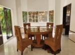 dining patio kitchen windows safe entertain Impeccable private cabarete villa ocean