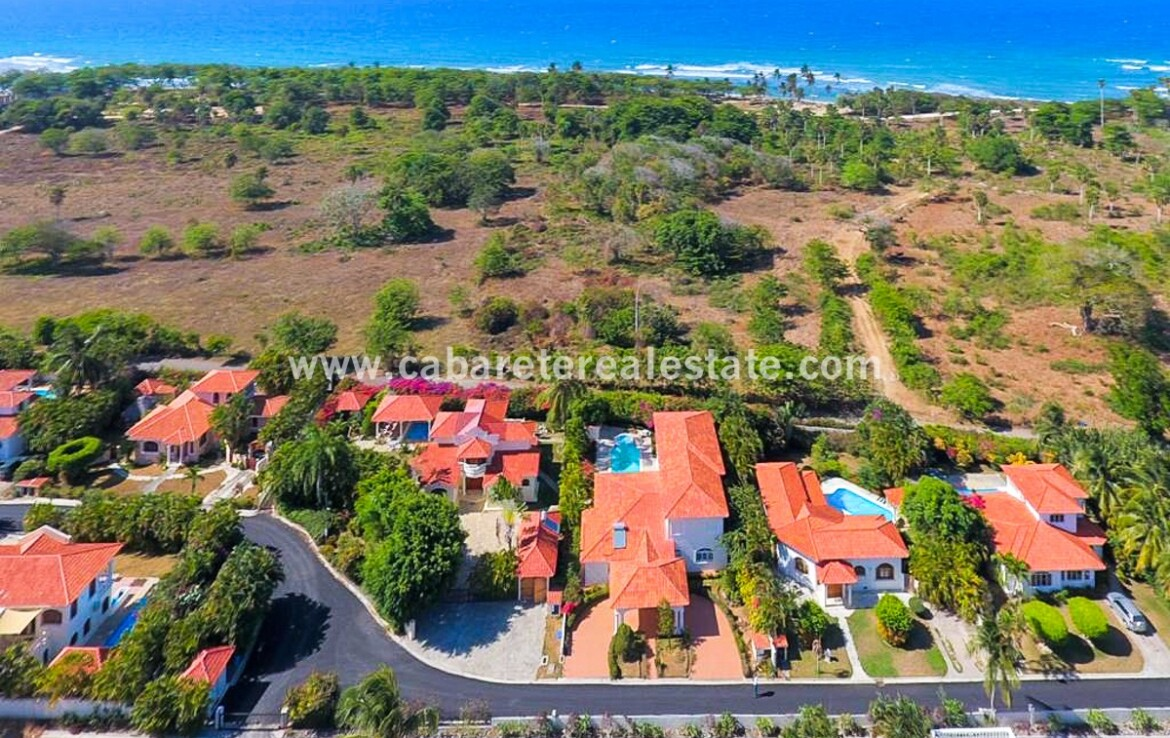 dominican republic cabarete cean view beach home villa space gated spacious villa encuentro family