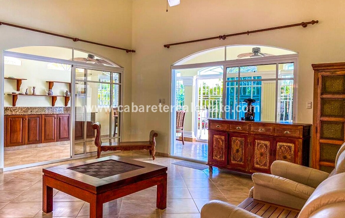 family room large guests visitors outside tile bright spacious family villa encuentro