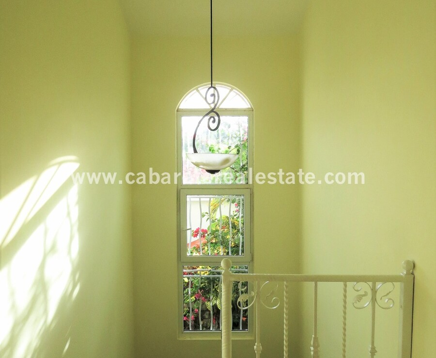 hall home large stairs dominican republic cabarete tile ocean private house villa spacious family villa encuentro
