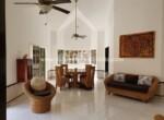 modern native dominican vaulted open safe living dining republic Impeccable private cabarete villa