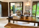 open house home dining table outside furniture kitchen dominican republic Cabarete luxury villa deal