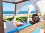 Beachfront Apartment Cabarete Dominican Republic Ocean side living island life modest one bedroom Cabarete condo