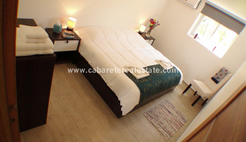 bedroom room ac view ocean beach comfortable contemporary Cabarete condo