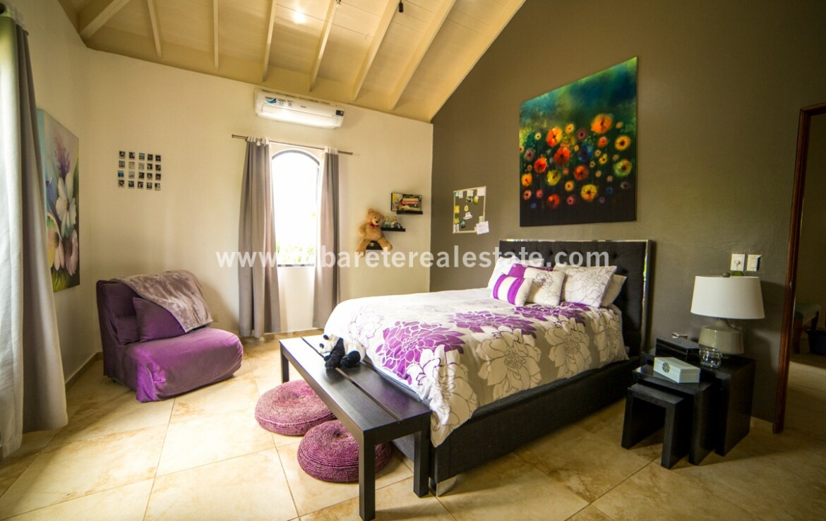 furnished kids kid guest nanny bedroom view spectacular Cabarete Caribbean Villa dominican republic