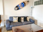 living dining tv seating furnished furniture comfortable contemporary Cabarete condo