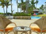 patio pool ocean beach surf kiting comfortable contemporary Cabarete condo