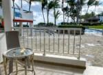 patio pool ocean sea restaurant dominican republic comfortable contemporary Cabarete condo
