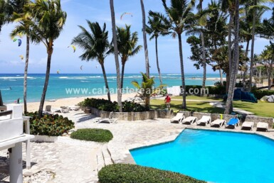 pool ocean walk kite surf restaurant comfortable contemporary Cabarete condo