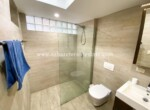 tile modern bathroom vanity comfortable contemporary Cabarete condo