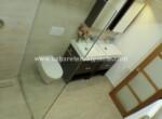 vanity restroom bathroom modern comtemporary clean comfortable contemporary Cabarete condo